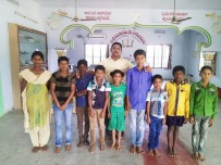 Children at India home